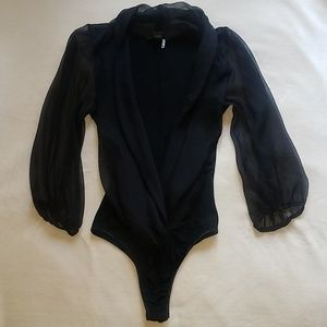 New Black Bodysuit